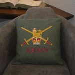 British Army - Embroidered Military Cushion