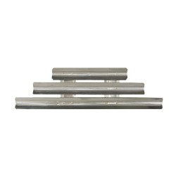 9 Bar Pin Silver Metal Brooch Fitting