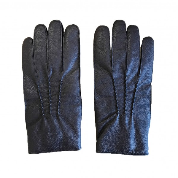 Large Parade Gloves - Brown Leather