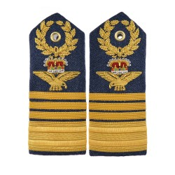 Air Chief Marshall – Shoulder Board Epaulette - Royal Air Force Regiment - Royal Air Force Badge