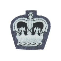 Flight Sergeant - Small Crown Rank Badge - Royal Air Force (RAF)