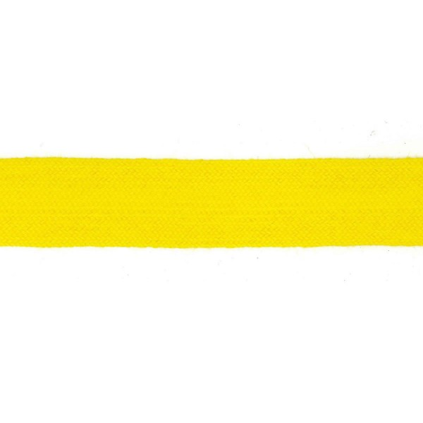 30mm – Bunting Yellow – Worsted – Flat Braid