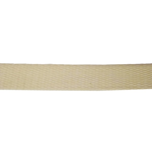 25mm - Plain Weave Natural Cotton Webbing - Rot Resistant